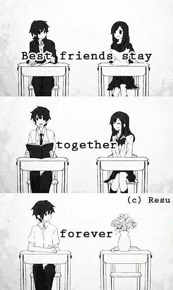 Los Animes de Kick: Lovely Complex  |Anime Friendship Boy And Girl Quotes