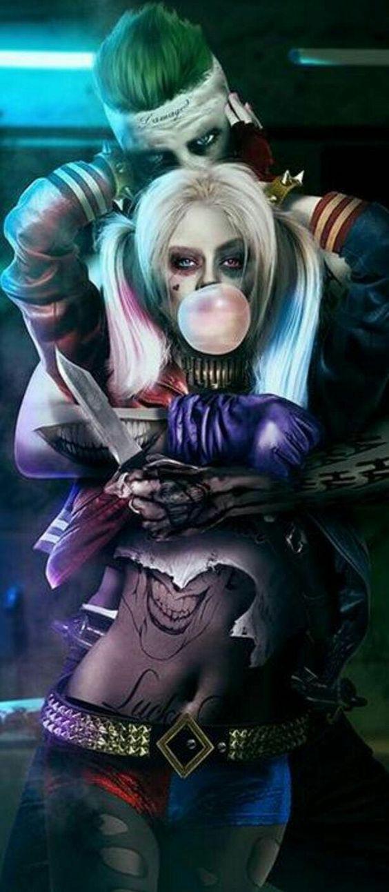 Harley Quinn and The Joker