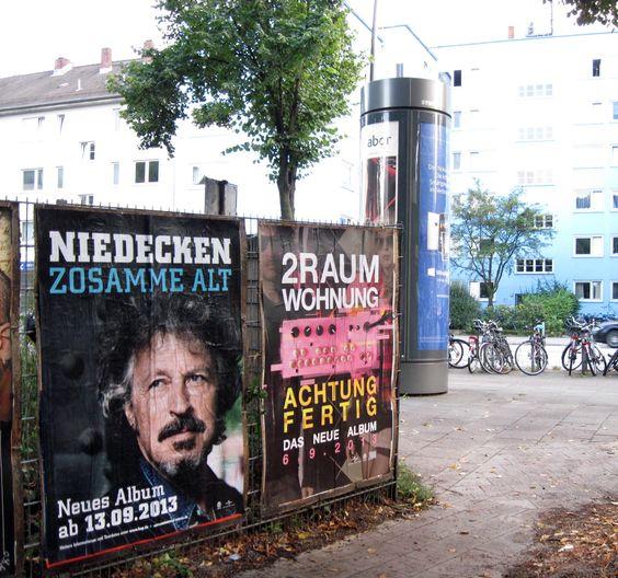 #Bauzaunplakatierung Hamburg #Poster #Plakat