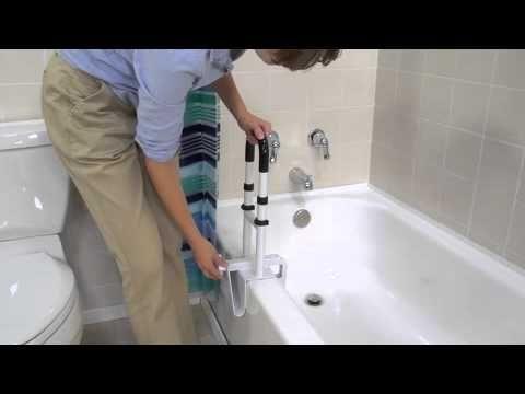 Drive Medical Bathtub Shower Grab Bar Safety Rail