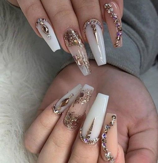 27 Simple Acrylic Nail Design Ideas For Short Nails For Summer 2019 Armaweb07 Com Luxury Nails Bling Nails Gorgeous Nails,Faith Beautiful Tattoo Designs For Women