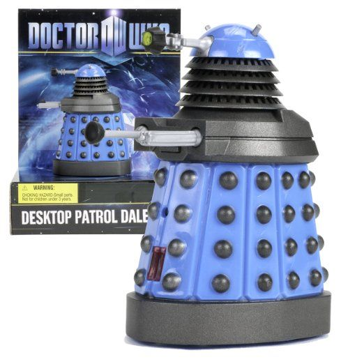 #amazon Doctor Who Dalek - Desktop Patrol Figure with Motion Detectors and Sound FX - Really Patrols for Desk Intruders (BLUE) - $39.95 (save 33%) #doctorwhodalek #undergroundtoys #toy