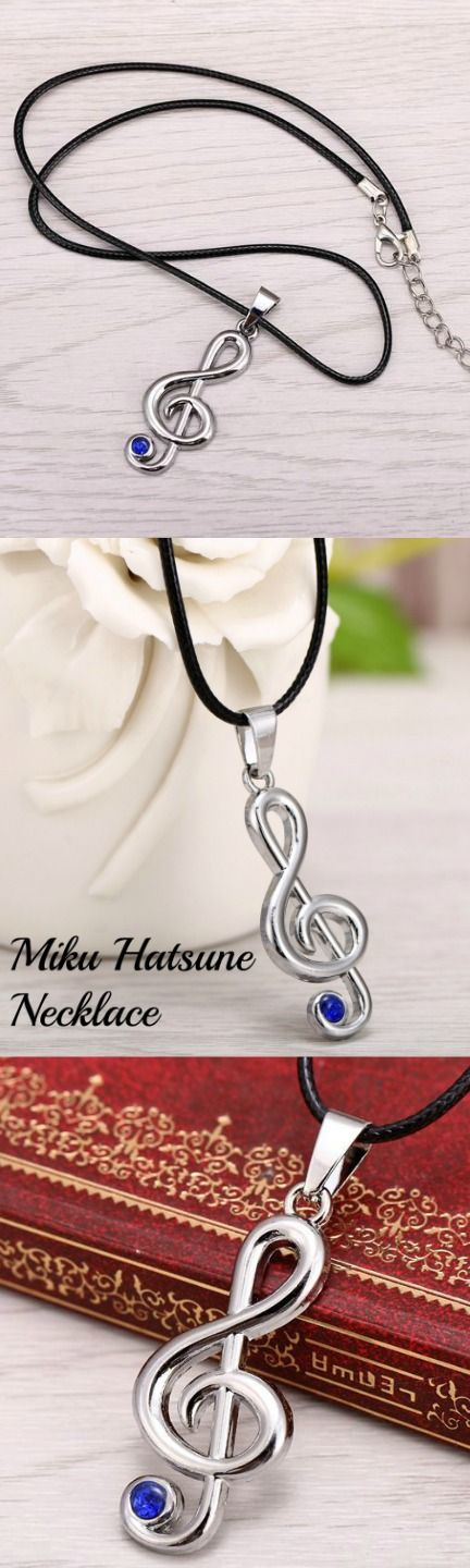 Miku Hatsune Necklace! Click The Image To Buy It Now or Tag Someone You Want To Buy This For.  #MikuHatsune