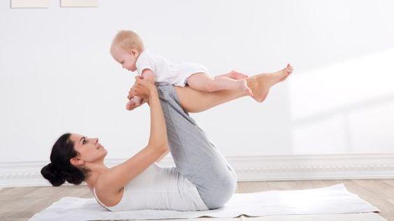 Come snellire il corpo e tonificare la pancia dopo la gravidanza - parte 3