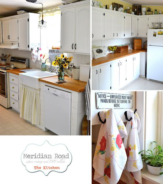 awesome cottage kitchen via meridian road