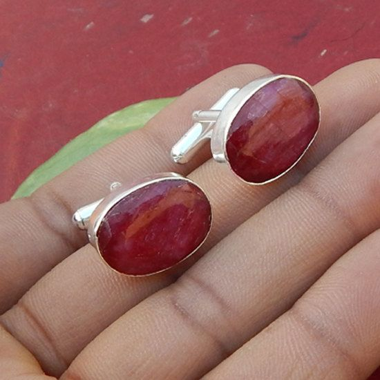 Hey, I found this really awesome Etsy listing at https://www.etsy.com/listing/178921440/oval-faceted-natural-red-ruby-cufflinks