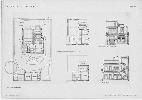 Progetti villette moderne amazing luca glissenti with for Progetti ville bifamiliari moderne
