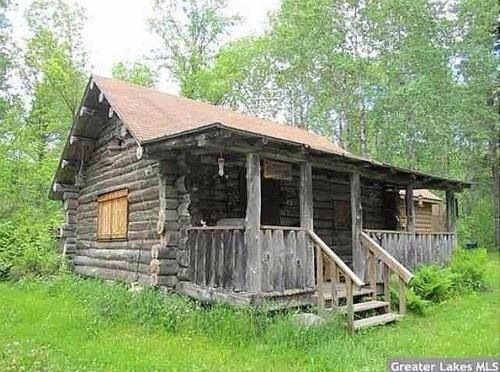 Old log cabin in the woods log cabins cabins farm for Rustic log homes