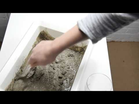 diy lampe aus beton youtube lampe pinterest uhren youtube und selber machen. Black Bedroom Furniture Sets. Home Design Ideas