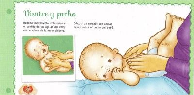 Estimulación temprana en niños y bebés: El masaje shantala en imágenes