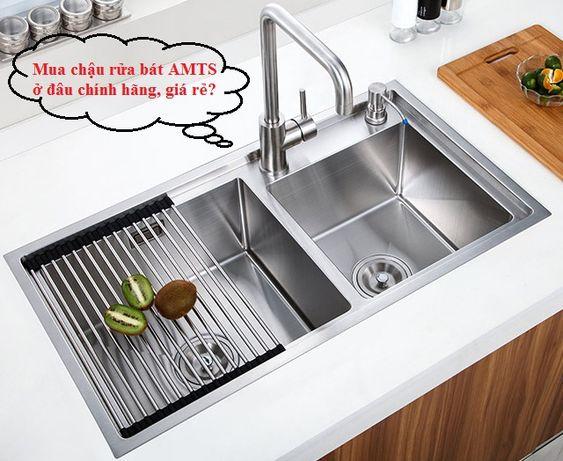 Đại lý bán chậu rửa bát AMTS tại Hà Nội đáng tin cậy