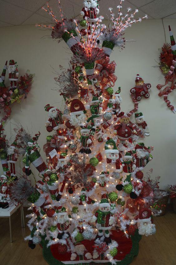 La tendencia del 2013 son los rboles de navidad blancos - Arbol de navidad blancos ...
