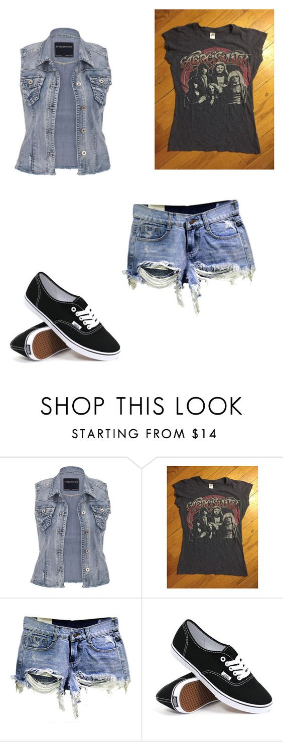 """""""rocker"""" by internationalbaby ❤ liked on Polyvore featuring maurices and Vans"""