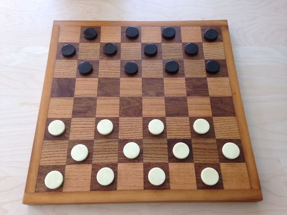 Make a wooden chess and checkerboard tutorial. How to Build a Chess and Checkerboard A simple but elegant DIY project you can do with some help from your kids? Checkmate. #weekendwoodworking #freewoodworkingplans DIY chessboard project & plans http://goo.gl/1pwl1B http://www.popularmechanics.com/: