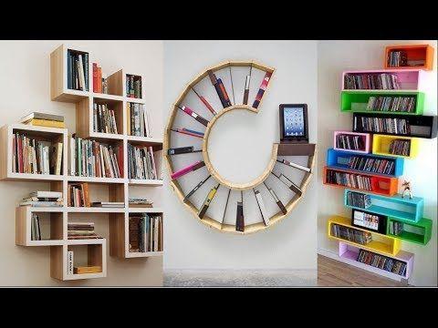20 Creative Bookshelf Book Rack Designs Ideas Youtube Book