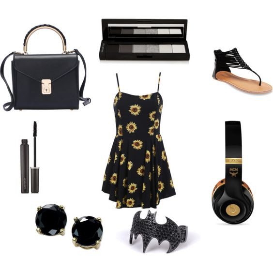 black love by queenbri23 on Polyvore featuring Wet Seal, B. Brilliant, MCM, shu uemura and Laura Mercier
