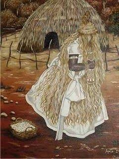 Prece de Omolu Encontrei pedra lascada Do tempo do avô, Toda ela bexigada,  Era de Omulu, sim, senhor.  No caminho tinha velame,  Senza e palha, tinha epó... Cruzei com almas santas,  Me benzi – salve atotô!  Senti frio e senti fome,  Dormência me abraçou, Mil anos correram breves,  Minutos que não passou.  A morte virou vida E a vida se renovou. Cajado batia a terra,  Era de Omolu, sim, senhor.  Salve, Lázaro! Salve, Roque! Salve quem muito viveu. Xaxará abriu caminho, O