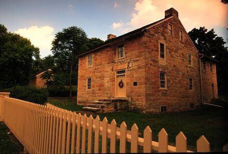Travel Back to the 1800s: Sibley House Historic Site (Minnesota Historical Society Photo)