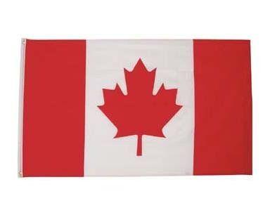 MFH Fahne, Kanada 90 x 150 / mehr Infos auf: www.Guntia-Militaria-Shop.de