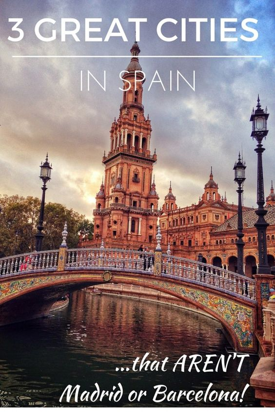 There are plenty of great places to visit in Spain apart from Barcelona and Madrid! Here are three of the best smaller Spanish cities.