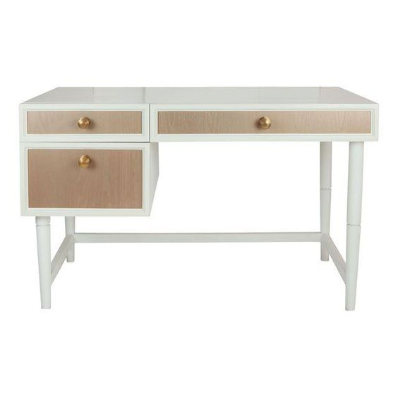 Bedroom #1: Chairish: The New Traditionalists Desk / Bedside Table (a place to tuck extra seating)