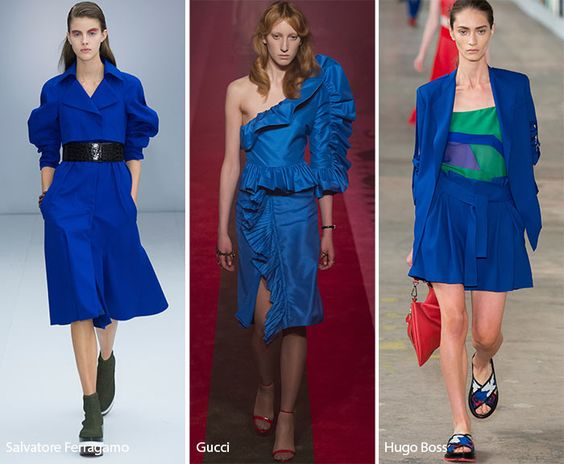 Spring/ Summer 2017 Color Trends: Lapis Blue: