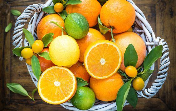 Citrus fruits https://www.rodalewellness.com/living-well/cold-flu-remedies?slide=1/slide/2: