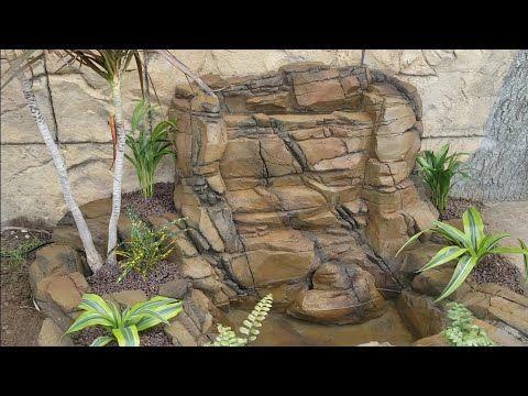 Como Hacer Una Cascada De Piedra