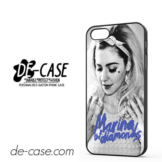 Beautiful Marina And The Diamonds DEAL-1657 Apple Phonecase Cover For Iphone 5 / Iphone 5S