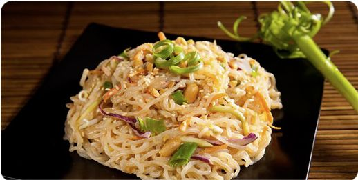 Miracle Noodle Recipes Preparation ~ Sesame Noodles ZERO everything ~ hCG Diet Recipe ~ Super low calorie Recipes ~ Yum!