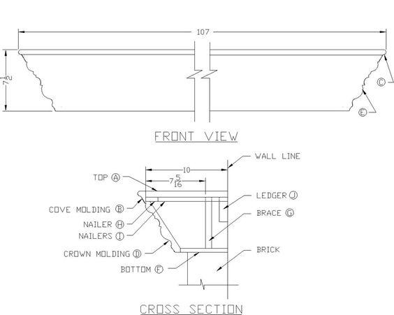 How to build a fireplace mantel shelf woodworking plans for Do it yourself woodworking plans