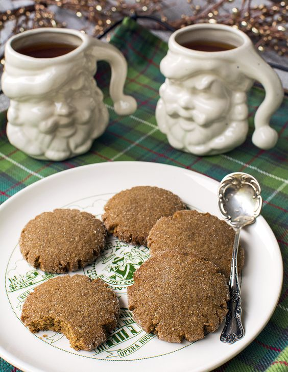 Soft Gingersnaps (aka Healthy Ginger Molasses Cookies) – Gluten-Free ...