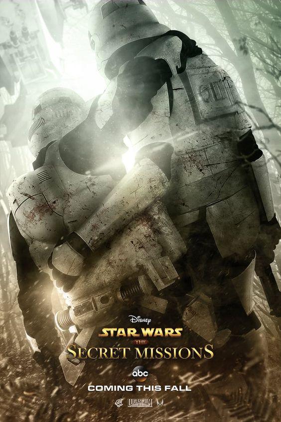 Star Wars The Secret Missions TV Show by: Ryan Crain Design Photo: Mark Edwards