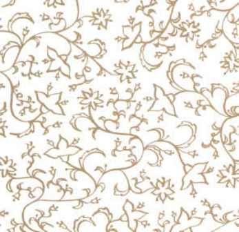 Faltpapier für Sterne Mille-Fleurs gold