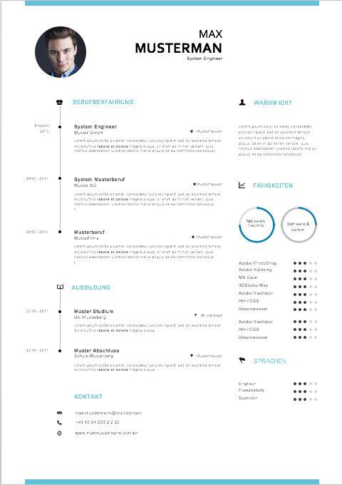 muster und vorlagen zur bewerbung lebenslauf und deckblatt bewerbung pinterest typographic design resume cv and corporate design - Lebenslauf Und Bewerbung