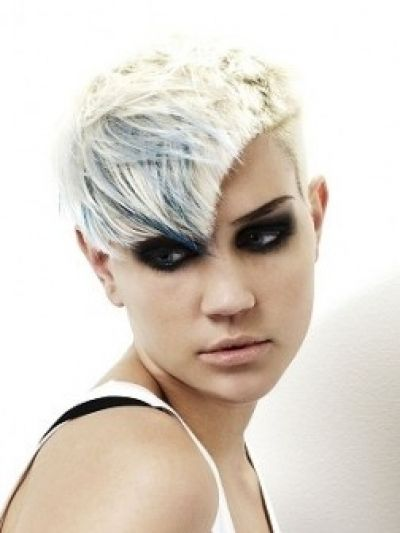 Punk Looking Avant Garde Short Haircut