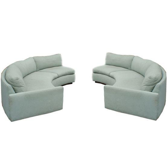 Circular Sectional Sofa | Half Circle Sofa Furniture  http://www.metroretrofurniture.com/cgi-bin ... | round couches | Pinterest  | Sofa furniture, ... - Circular Sectional Sofa Half Circle Sofa Furniture Http://www