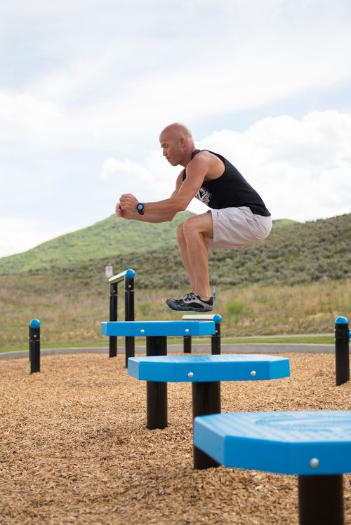 Plyo Steps Outdoor Gym Equipment Outdoor Fitness Equipment No Equipment Workout