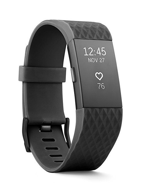 Amazon Com Fitbit Charge 2 Heart Rate Fitness Wristband Blue Large Us Version Health Personal Care Fitbit Charge Fitness Wristband Fitbit