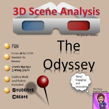 The Odyssey D Scene Analysis Project Diorama Standards Based