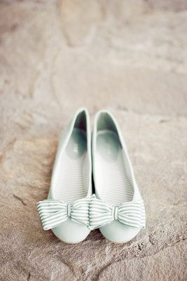 Darling pastel blue flats from ModCloth.com. Photo by Oz Visuals