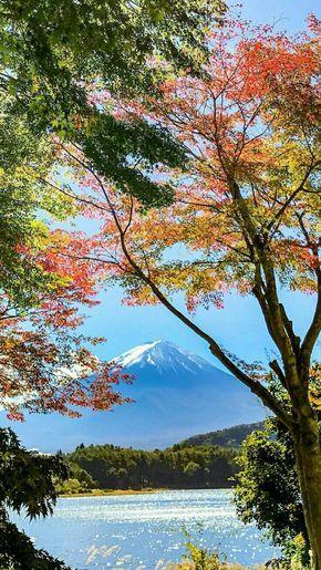 Hermoso Paisaje De Japón De Fuji Hermoso Japon Paisaje Landschaftsbilder Naturbilder Naturfotografie