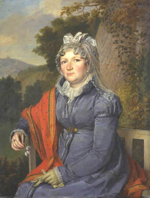 1816 Baronin Sophie Waitz von Eschen-Rheinfarth by Sebastian Weygandt (Museumslandschaft Hessen Kassel - specific location unknown to gogm) inc. exposure
