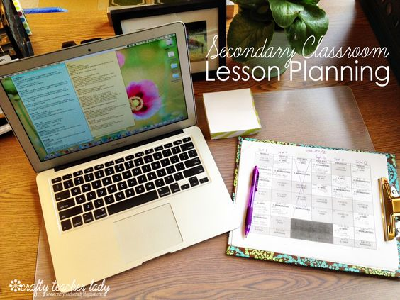 Organization in the Secondary Classroom: Lesson Planning