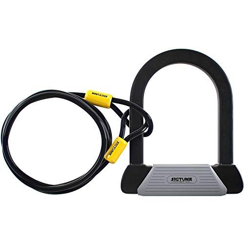 Heavy Duty Security Bycicle Lock Metal Cable Chain with 2 Keys Bike