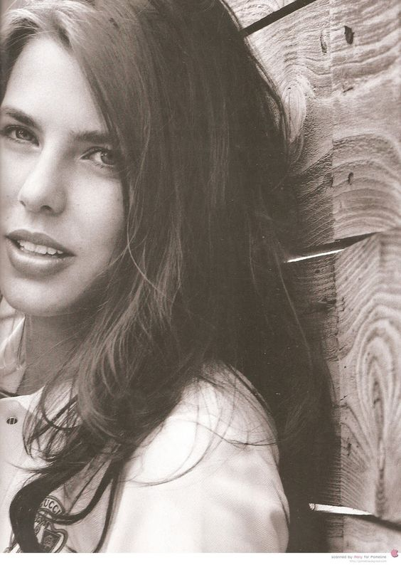 Mad for Monaco: Charlotte Casiraghi, inherited her stunning beauty from her mother Caroline.