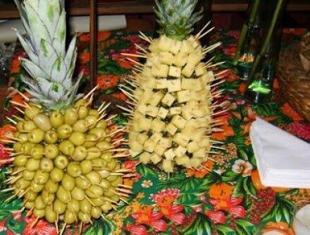 Resultado de imagem para decoração de festa abacaxi