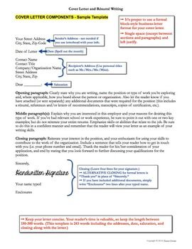 Business Letter Resume Writing And Resume On