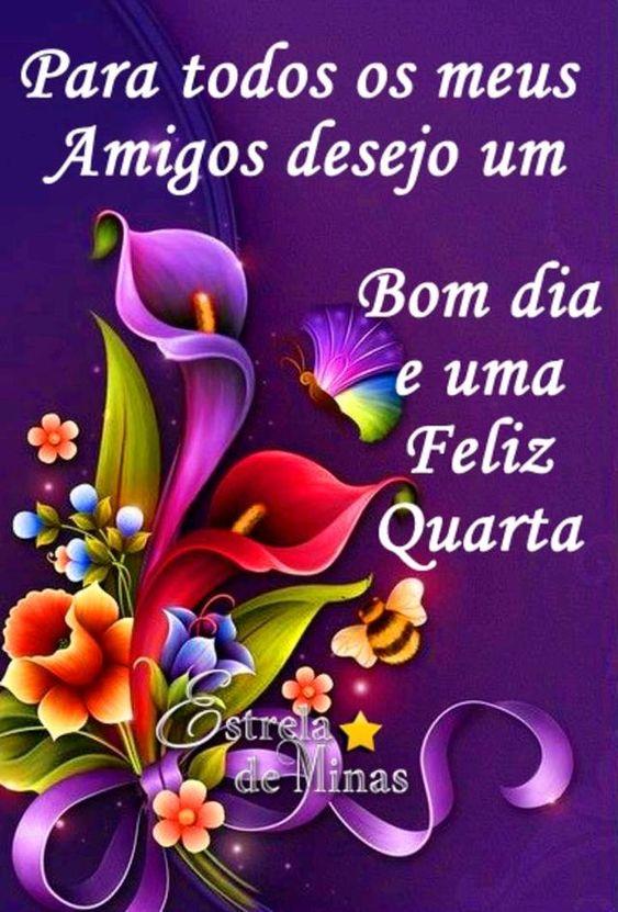 Para todos os amigos desejo um bom dia carinhoso!
