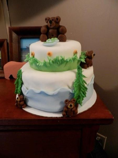 Going on a Bear Hunt birthday party! cakery lovable-food